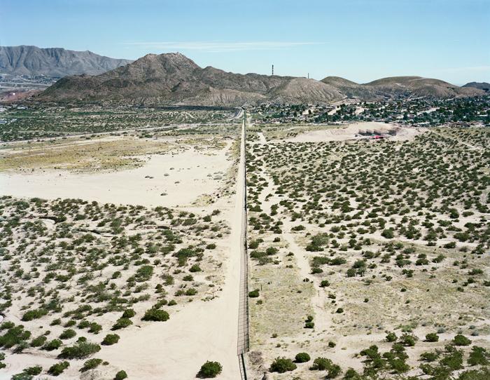U.S./Mexico border near El Paso/Jurarez