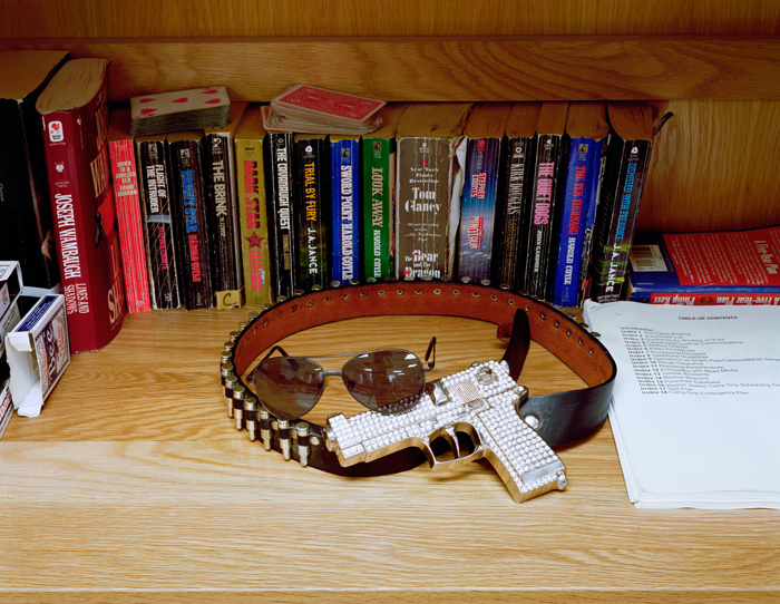 Trophy Belt and Novels, FOB Camp Desert Grip, Arizona