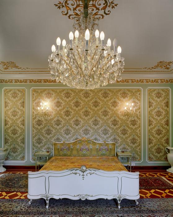 Ceausescu's Bed, Villa Primavera, Bucharest, Romania