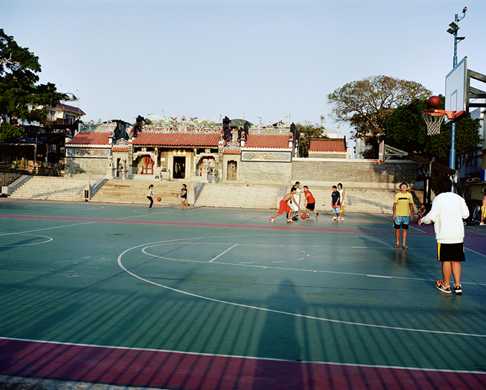 Basketball Court in Front of Temple, Cheung Chau, 2008