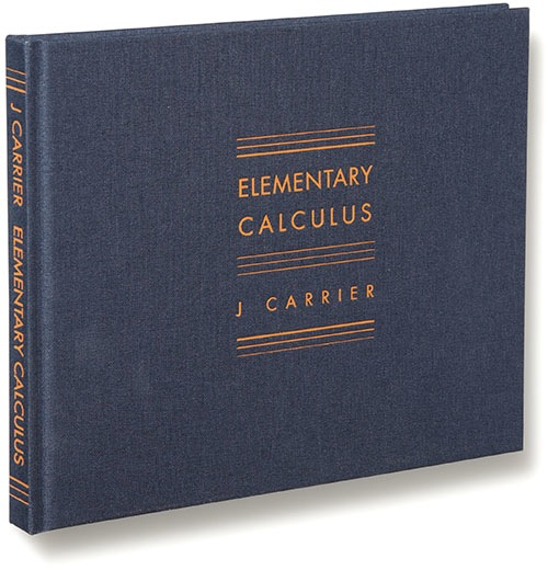 Leo Hsu reviews Elementary Calculus