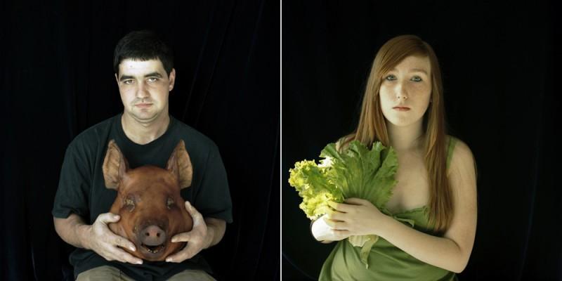 Pig / Lettuce