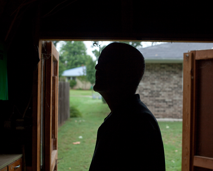 Silhouette In The Shed, 2009