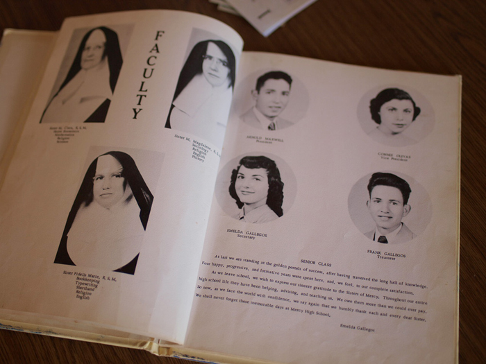 The 1953 Mercy High School Yearbook