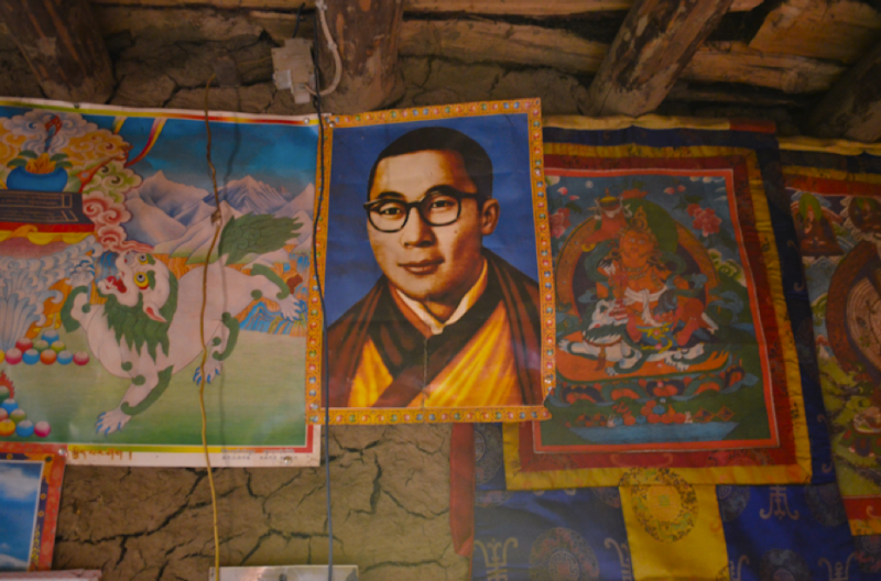A Portrait of His Holiness the Fourteenth Dalai Lama, Gerta