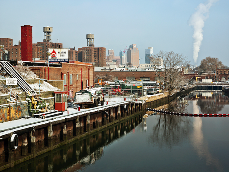 At the End of Gowanus Canal, Brooklyn, NY, 2009