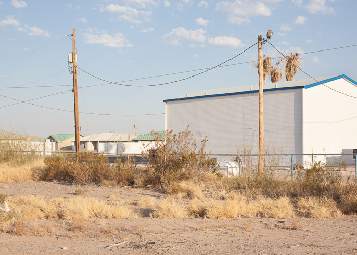 Empty Lot, Back of Motel