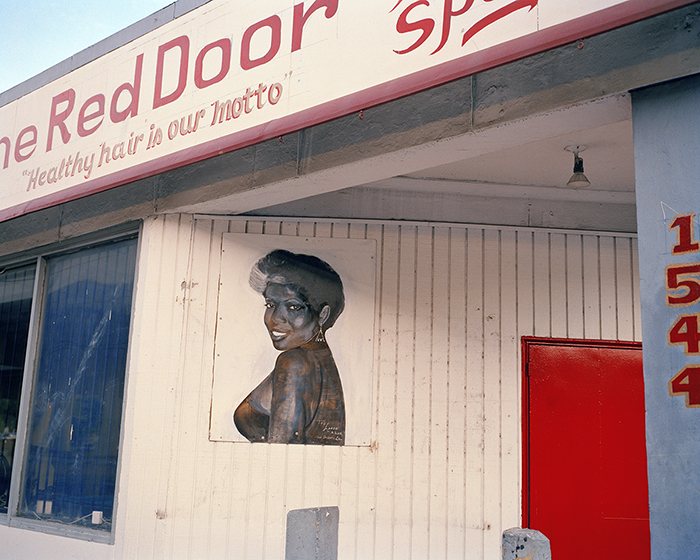 North Claiborne Avenue (The Red Door)