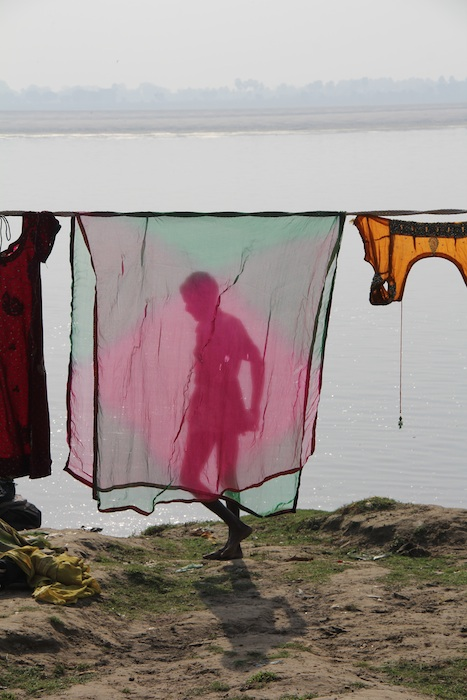 "Katie Moore ""Laundry on the Ganges"""