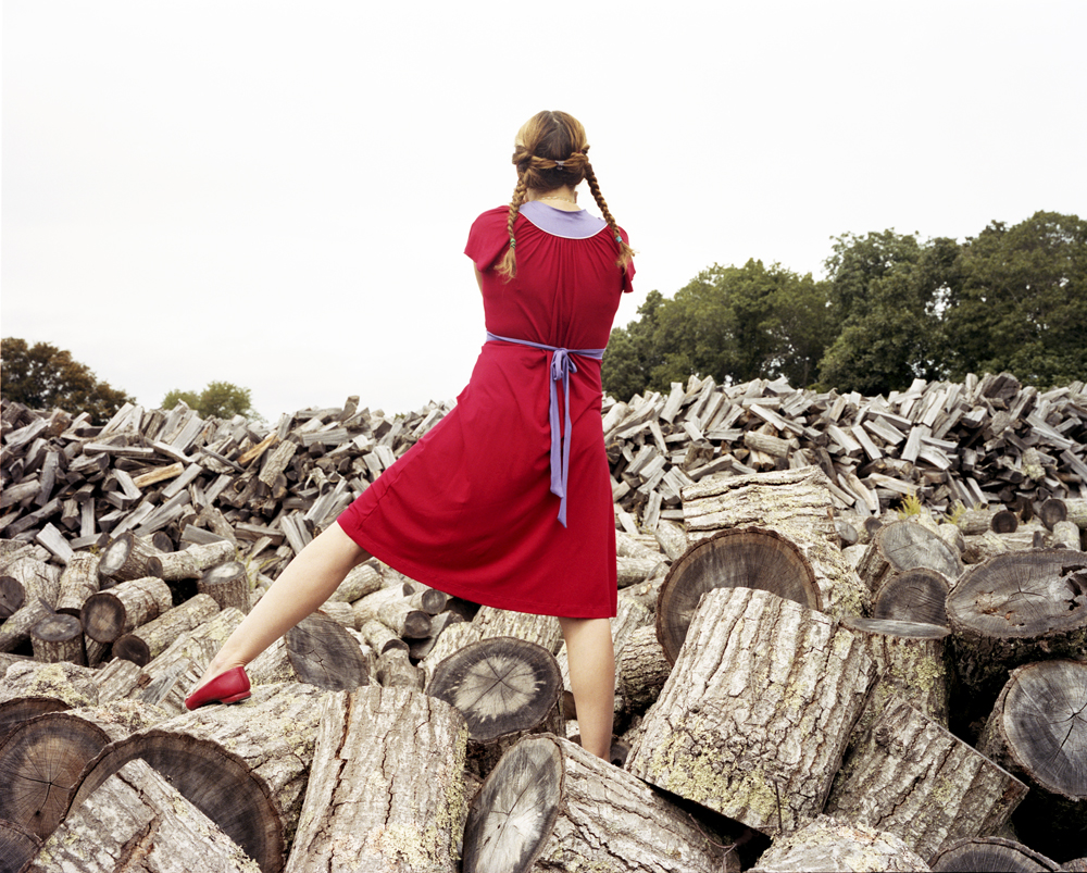 The Red Dress, Sagaponack, 2008