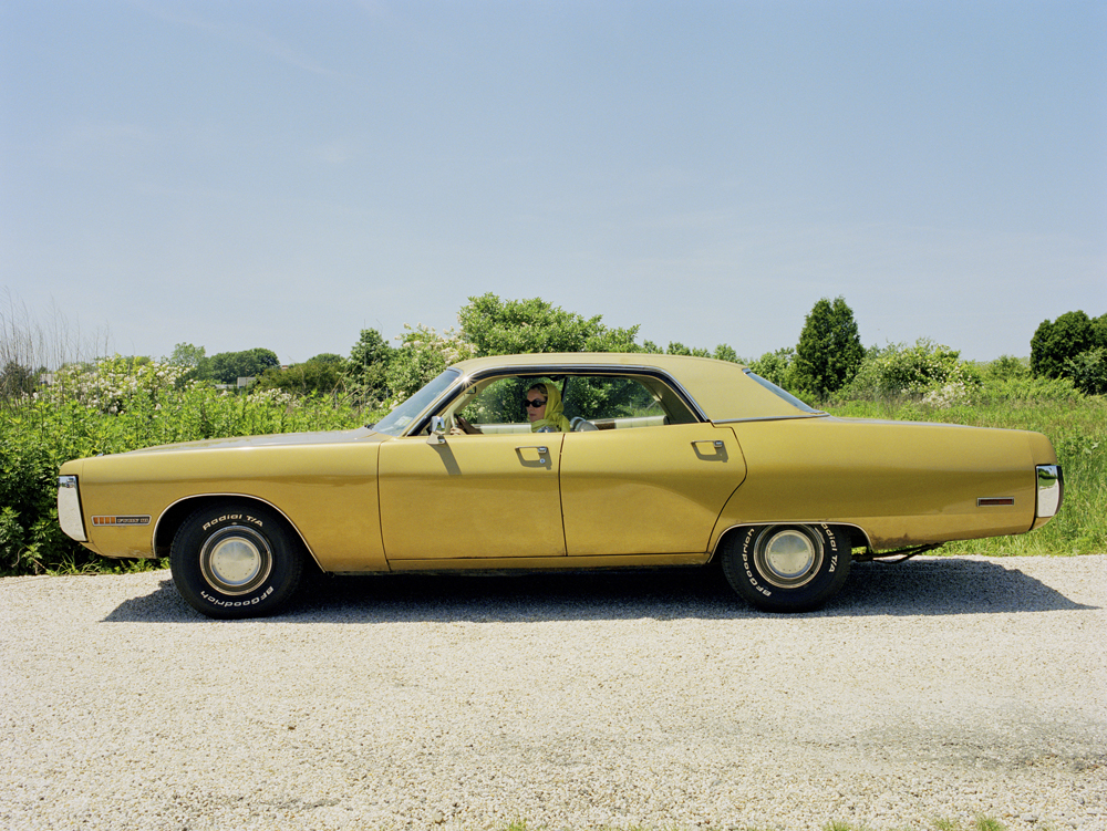 The Yellow Car, Bridgehampton,2006