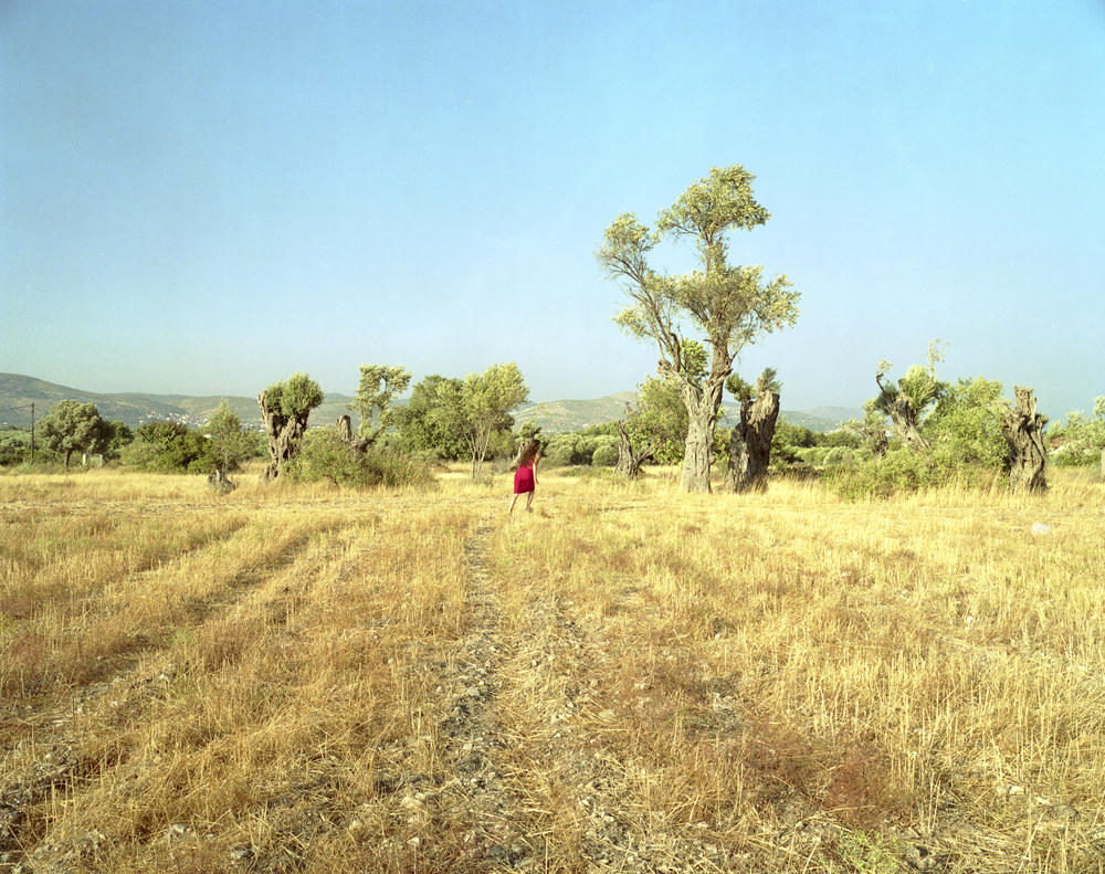 The Red Skirt, Samos, 2006