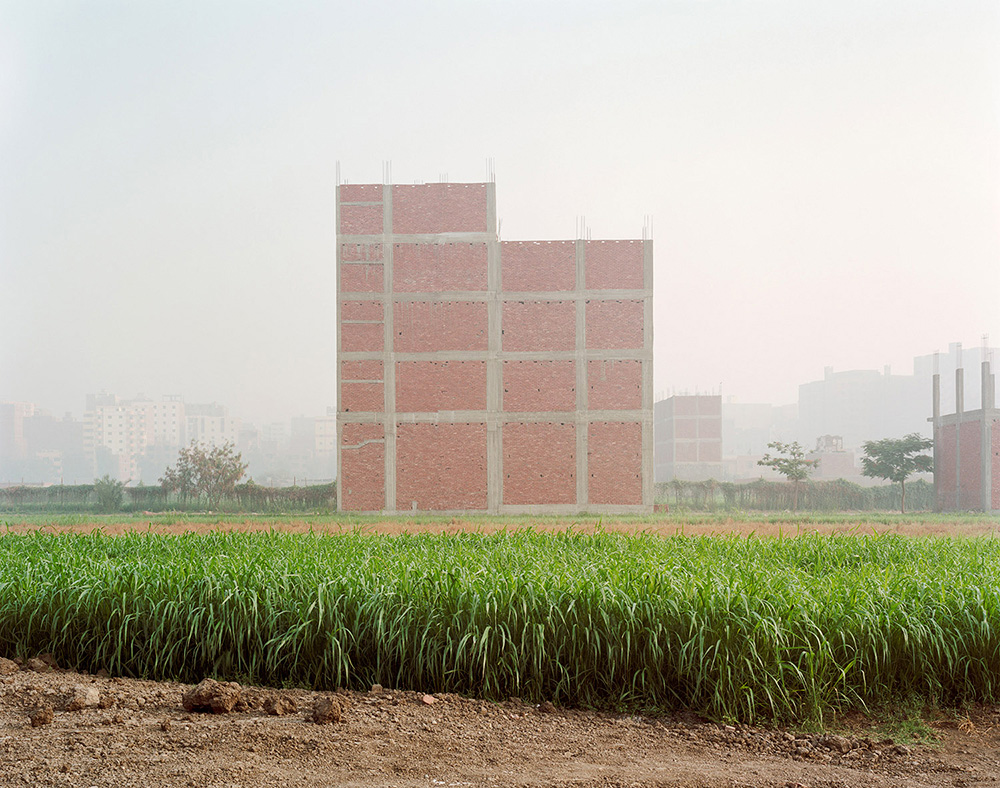 New Construction on Farmland; Maryouteya, Cairo.