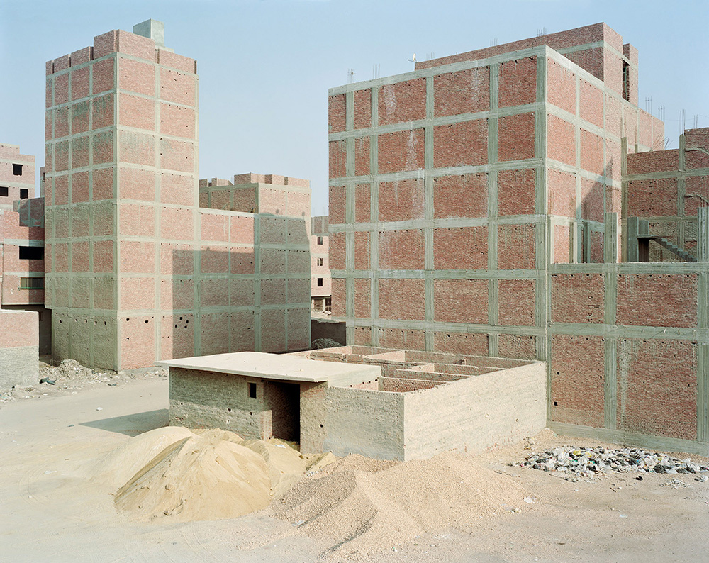 Construction along Ring Road; Maryouteya, Cairo.