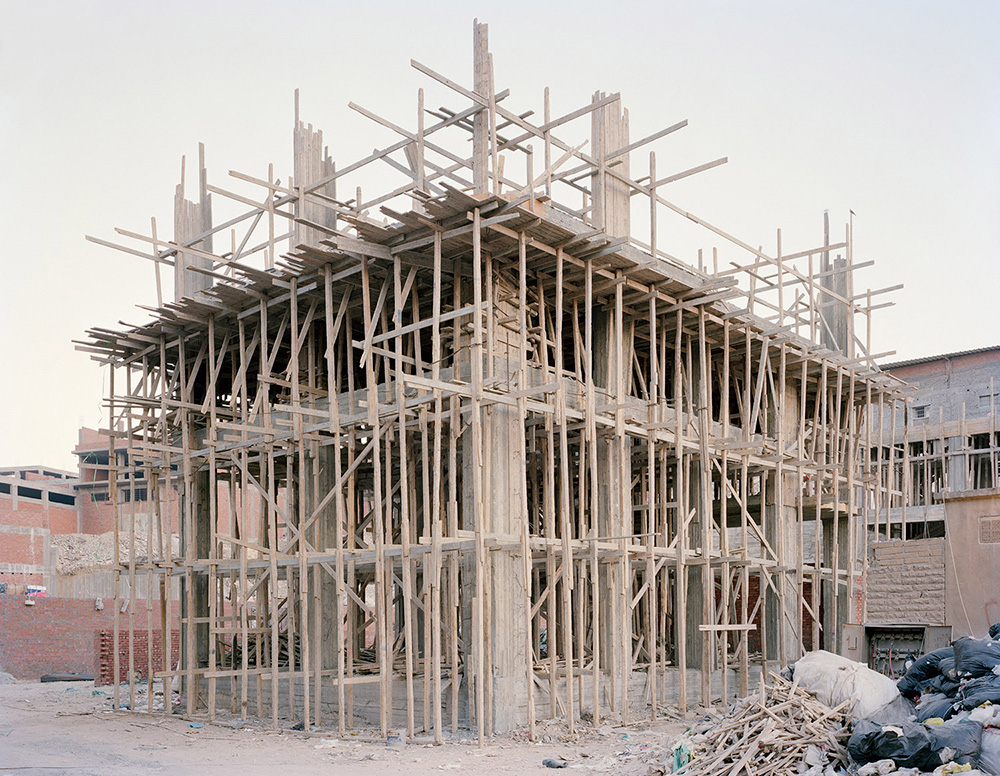 Construction in Manshiet Nasser; Cairo.