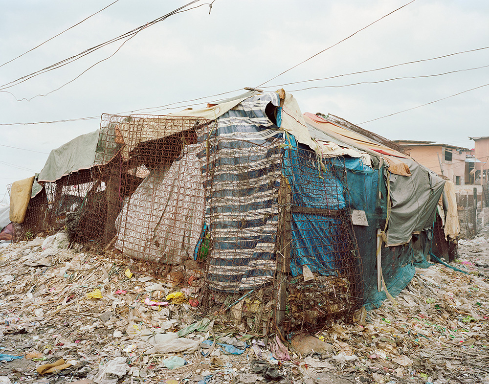Trash Picker's Home; Sitio Damayan, Manila.