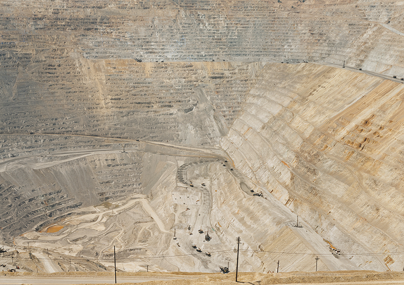 Untitled (Copper Mine) Bingham Canyon, Utah 2002