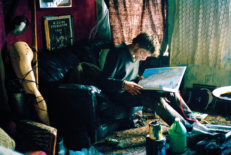 Joey Looking at Map, See Skwat, 1997