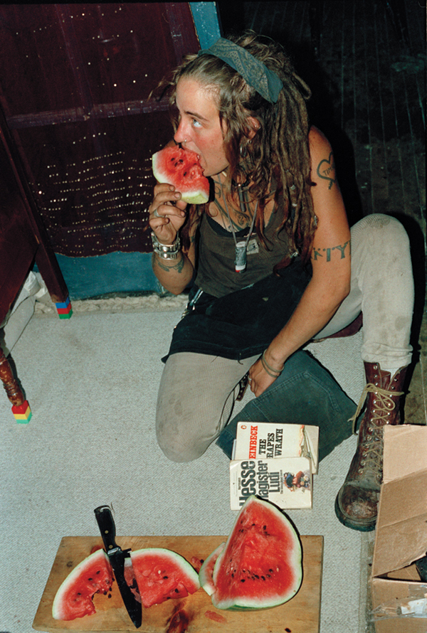 Amy Eating Watermelon, Bullet Space, 1997