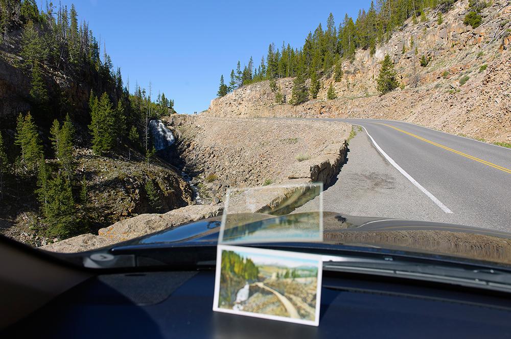Rustic Falls + Haynes Vintage Picture Postcard
