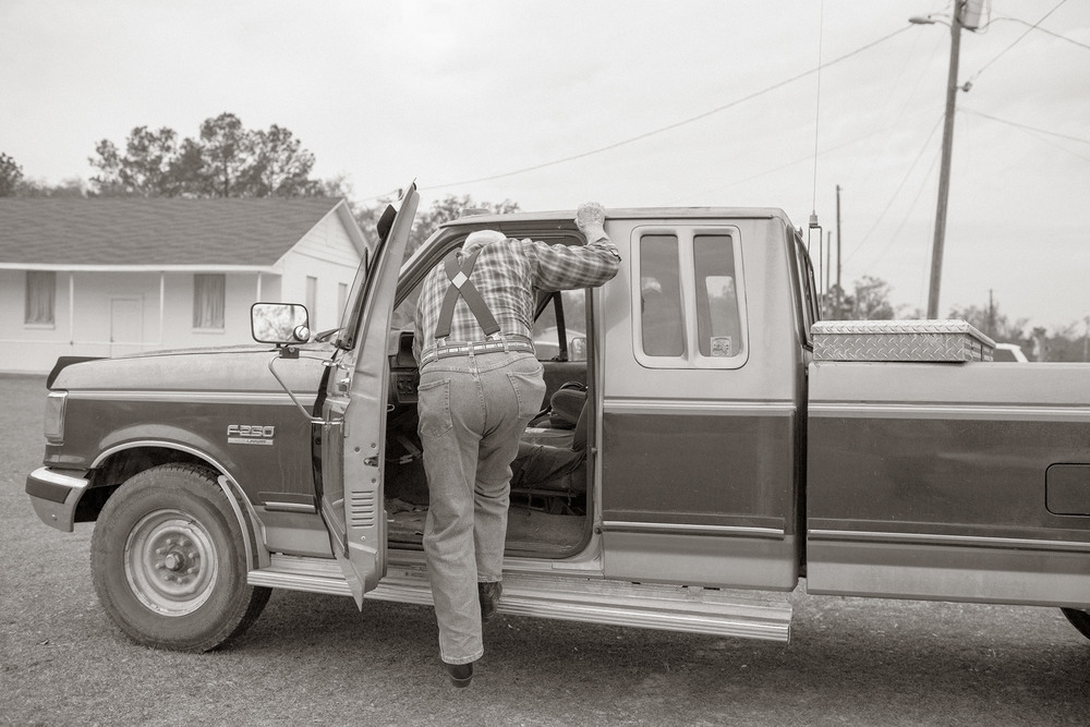 A Man and His Truck, Pinetta, FL