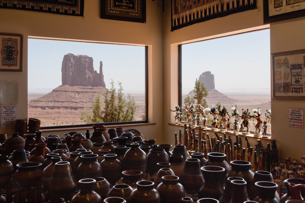 Monument Valley Gift Shop