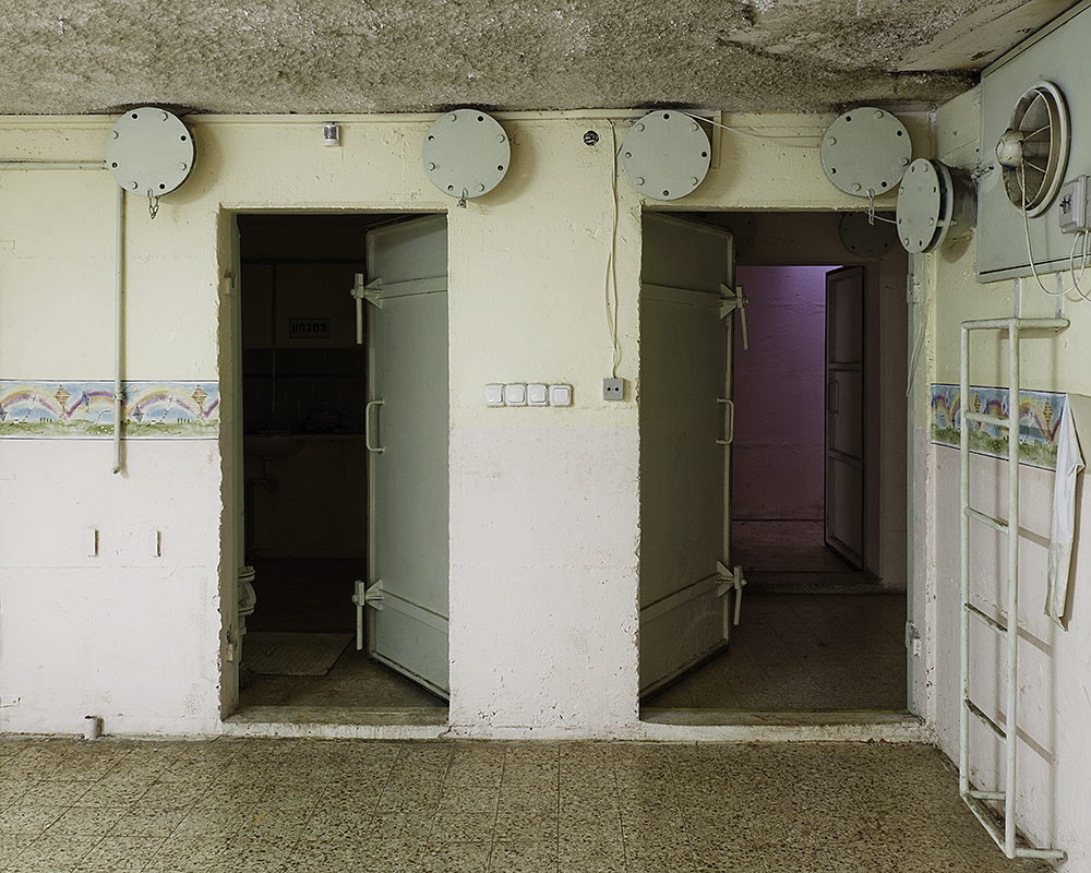Youth activity center/public bomb shelter, Kiryat Shmona.