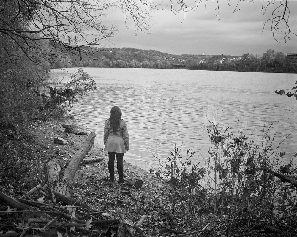 Alex by The Monongahela River, Pittsburgh, PA; 2012