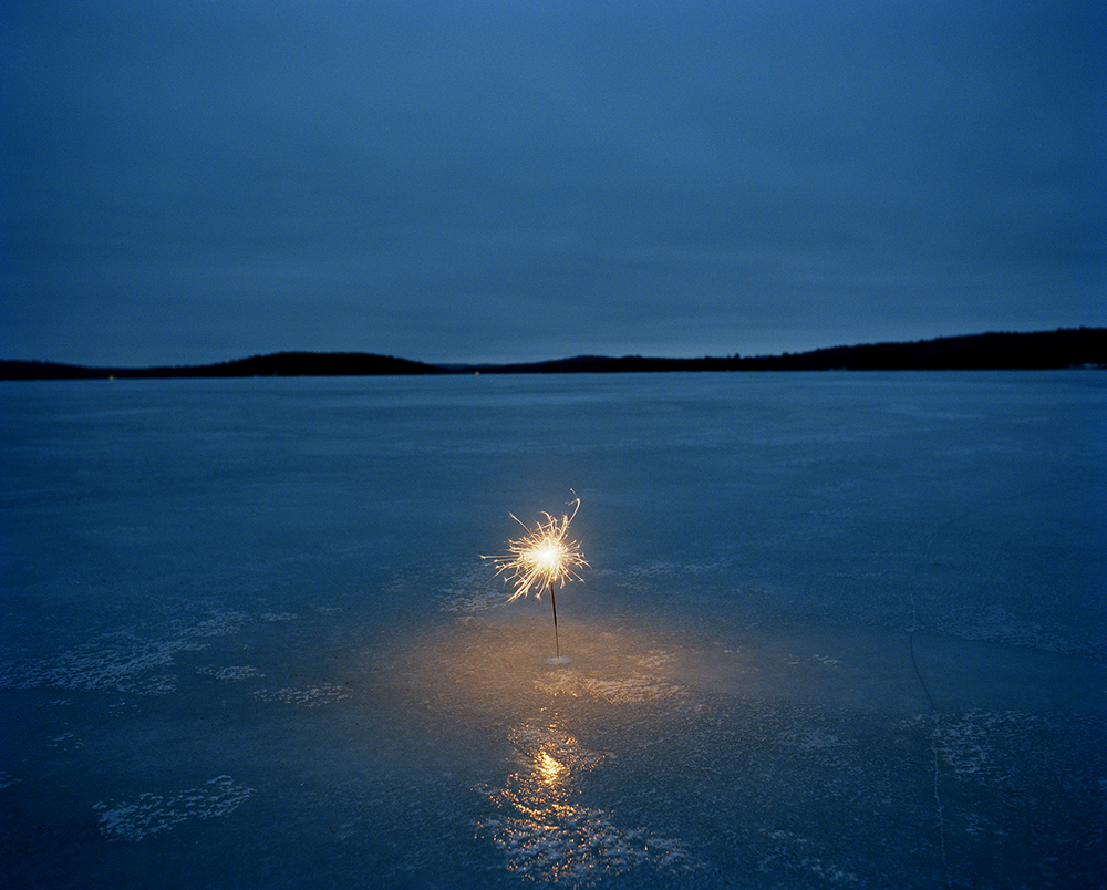 A Sparkler on a Frozen Lake