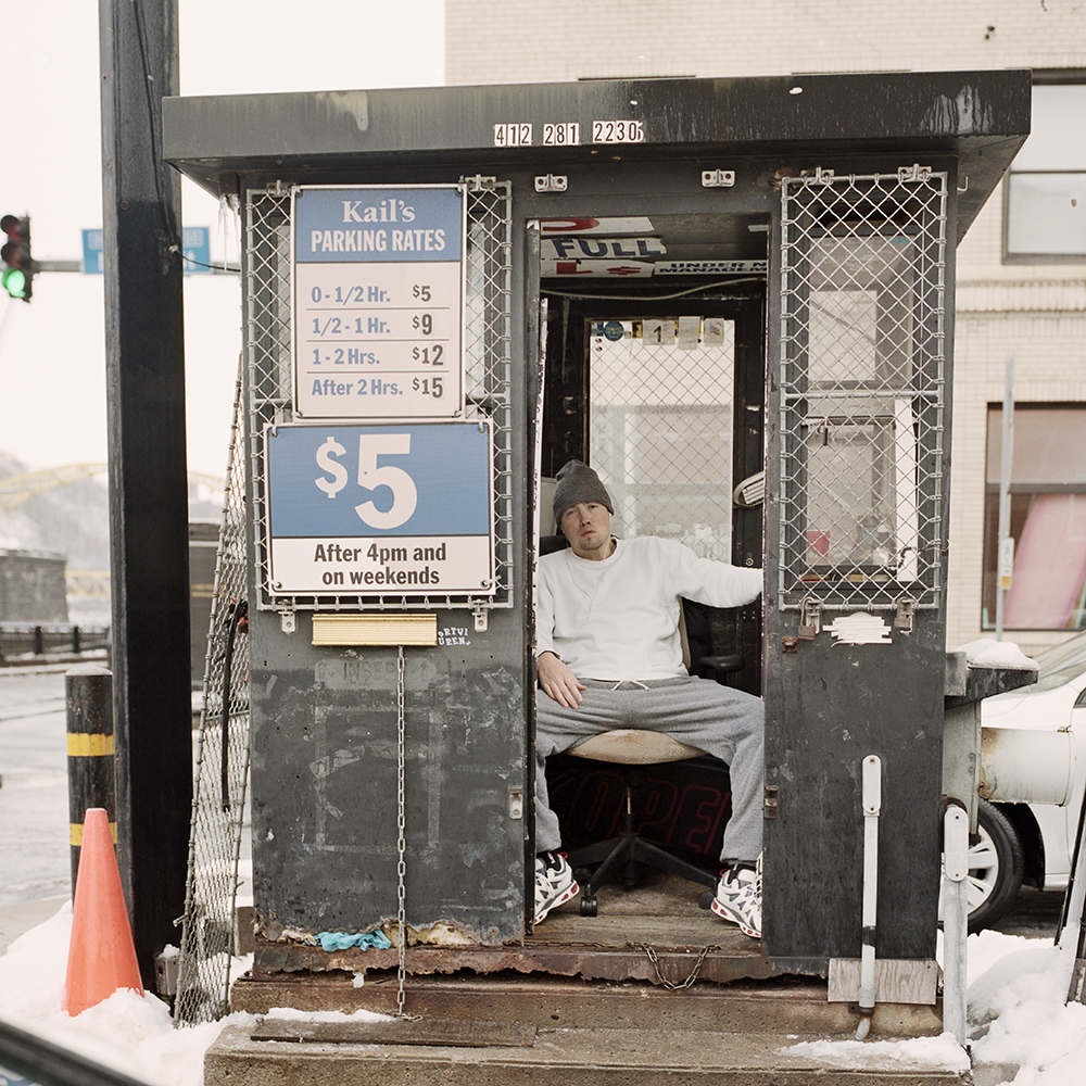 Pittsburgh Parking Lot Booths and Their Attendants  by Tom M Johnson
