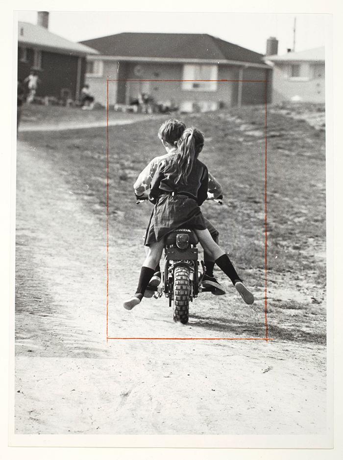 Rudy Platiel, Little minibikers, Markham, Ontario, 1970