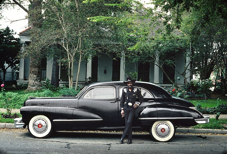 Henry Horenstein, Gatemouth Brown, New Orleans, 1985