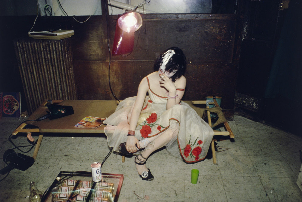 Nan Goldin, Trixie on the Cot, New York City, 1979