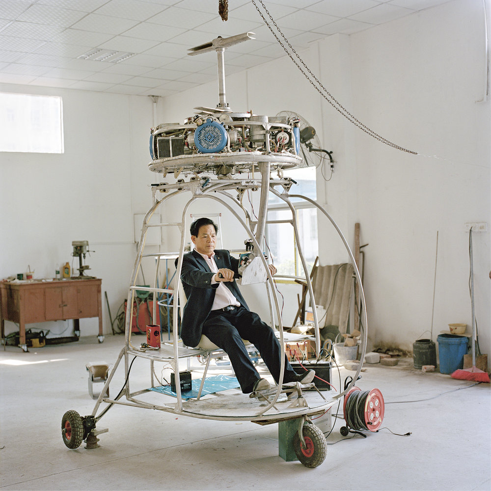 Zhang Dousa.n 'I love creating. I wouldn't build an aircraft that already exists; I want to create my own designs and inventions. Those who don't understand might think I'm an idiot, given nowadays the whole of society considers making money the most important thing. People say you are being silly if you don't make money but spend it.'