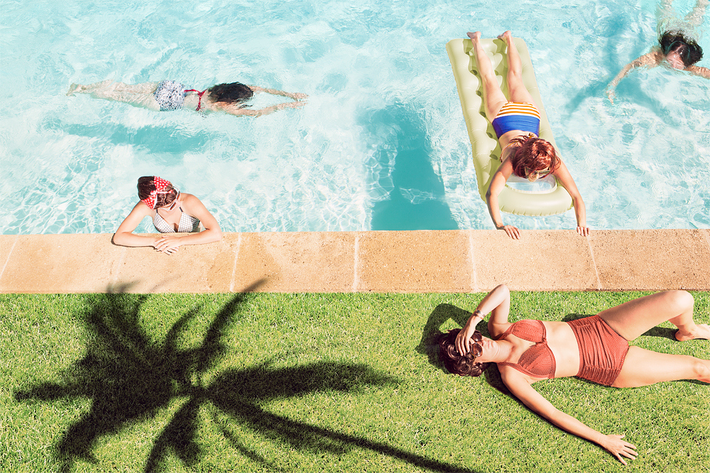 Pool – Montpeyroux, France