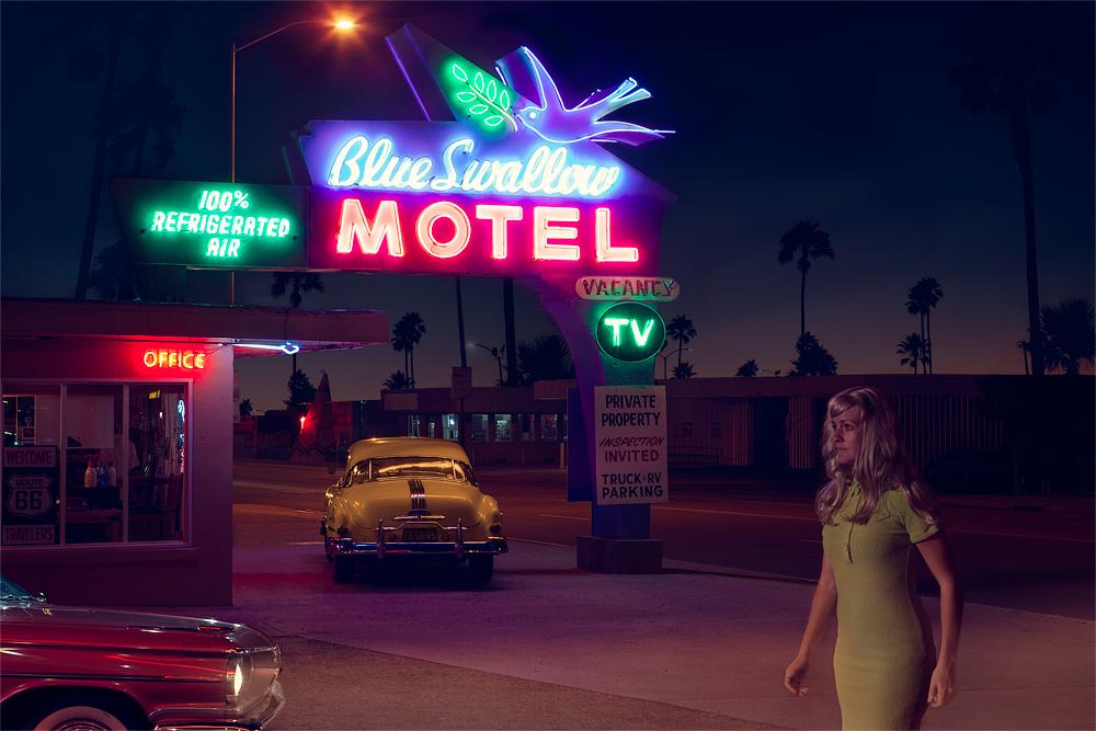 Blue Swallow Motel – Tucumcari, New Mexico, USA
