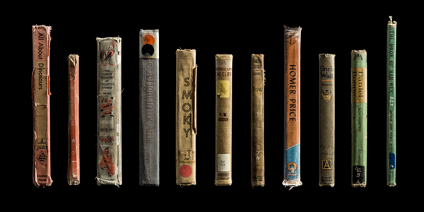 Multiple Children's Spines ©Kerry Mansfield