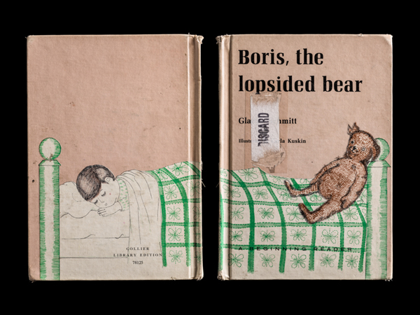 Boris the Lopsided Bear Front & Back©Kerry Mansfield