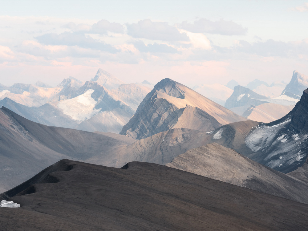 Tangle Ridge, Jasper National Park, Alberta
