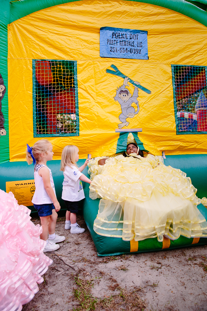 Kaycee, Valedictorian [in the Bouncy Castle]