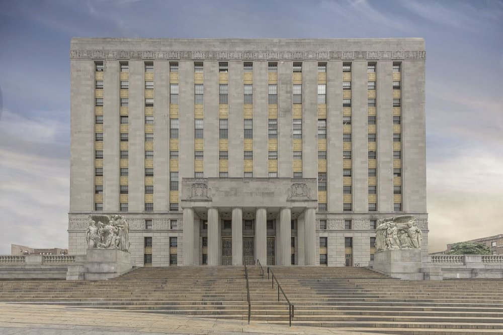 Bronx County Building, Grand Concourse, Bronx