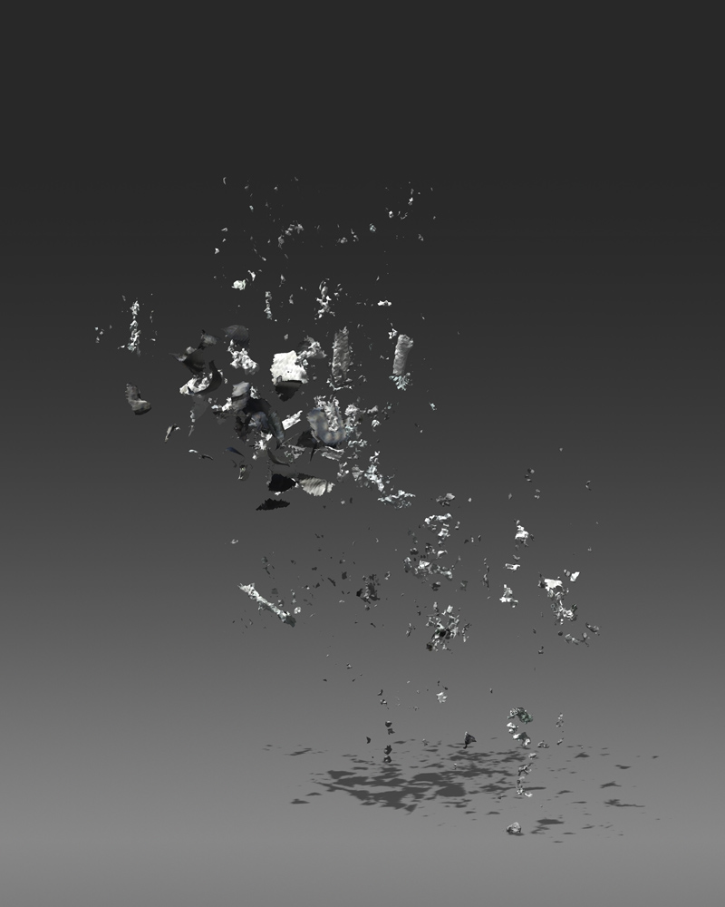 Nokia , Archival Pigment Print from 3d scan, 30 x 36 inches