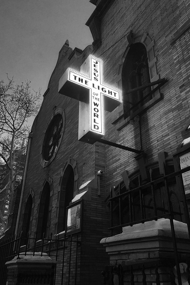 Jesus is the Light, NYC