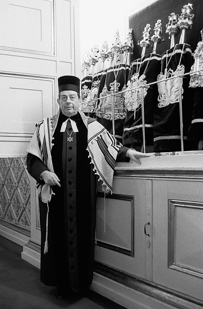 Rabbi Bent Melchior  Bent Melchior comes from a family with a long rabbinical tradition and deep roots in Denmark. On September 29, 1943, his father, Dr. Marcus Melchior, interrupted the morning service at Krystalgade synagogue, Copenhagen, to relay the momentous warning of the imminent German roundup of the Jews in Denmark. Twenty years later, in 1963, Bent was ordained as a rabbi, and in 1969 he was named chief rabbi of Krystalgade, succeeding his late father.