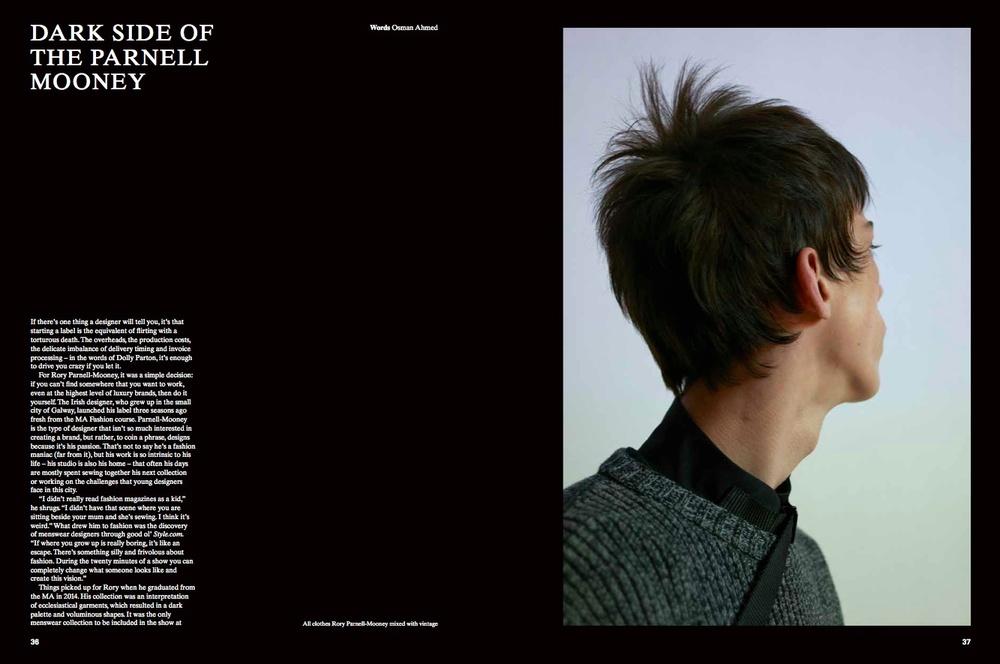 Rory Parnell-Mooney, 1 Granary
