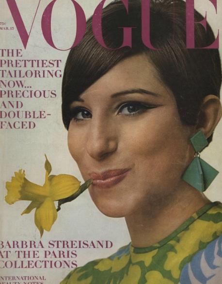 Barbra Streisand Vogue Cover 1966 Avedon vreeland