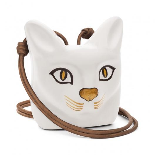 Loewe cat pendant necklace