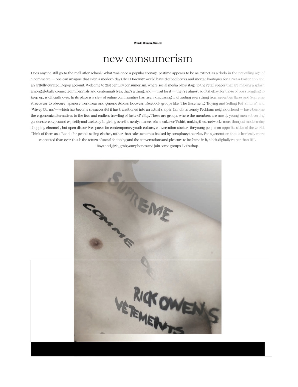 New Consumerism, Dansk