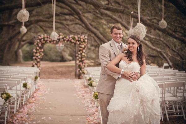 Fairytale wedding.