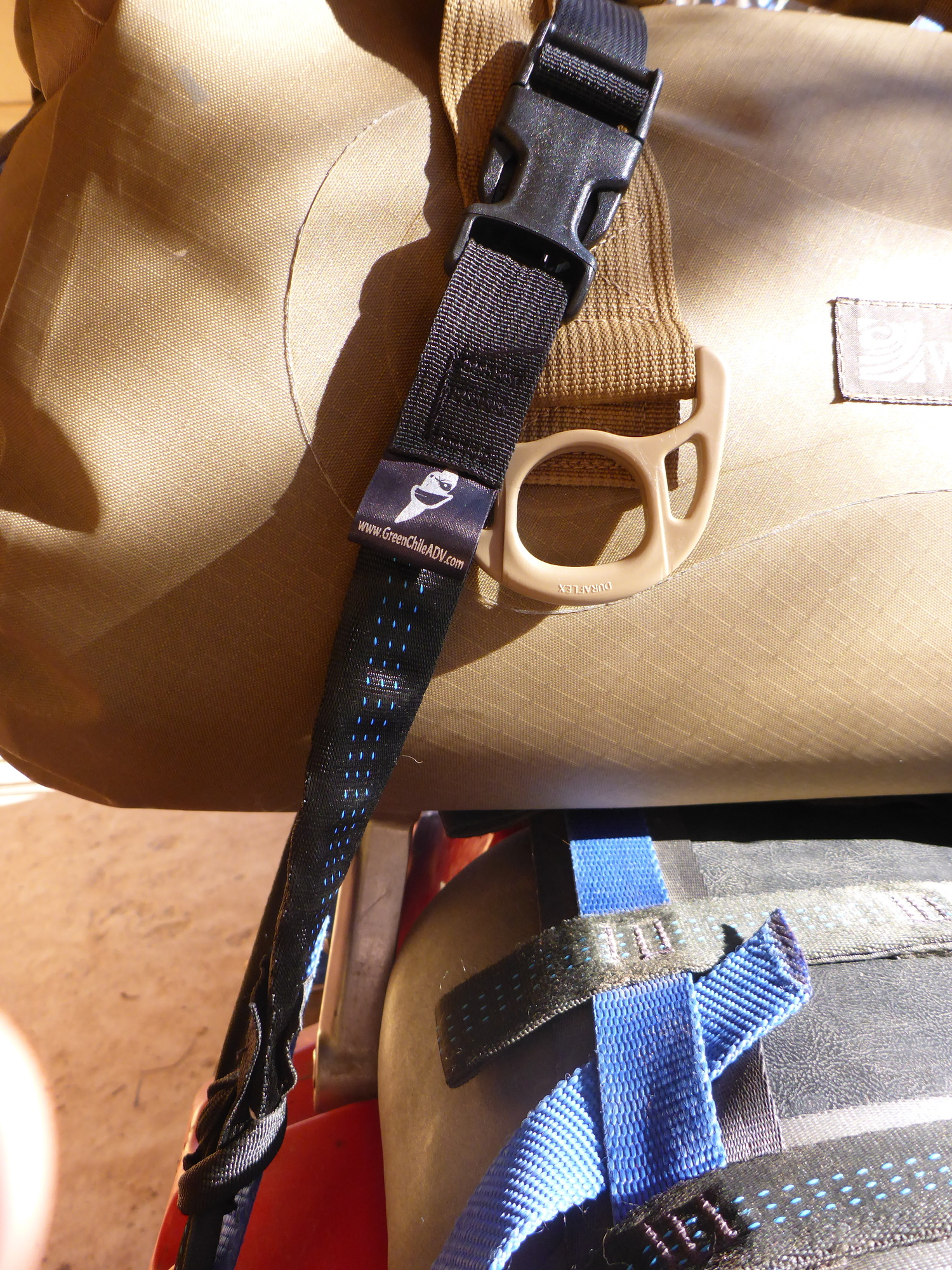 Mondo UL Buckle and Tensioner Detail